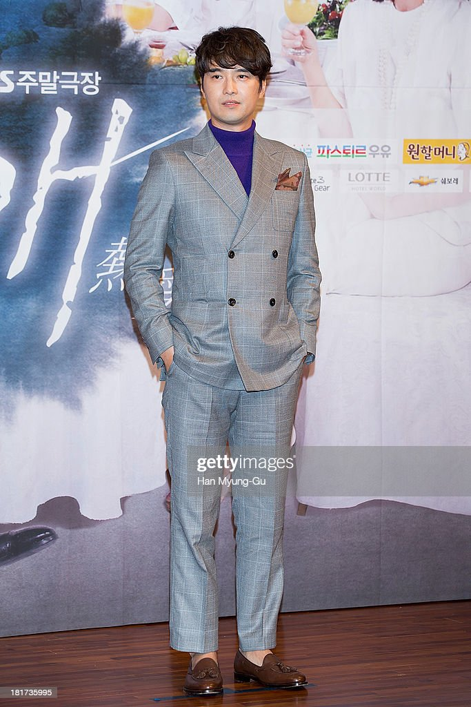 South Korean actor Oh Dae-Gyu attends SBS Drama 'Hot Love' press conference at 63 building on September 23, 2013 in Seoul, South Korea. The drama will open on September 28, in South Korea.
