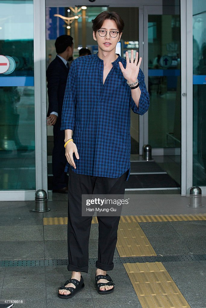 Celebrity Sighting At Incheon Airport - June 20, 2015