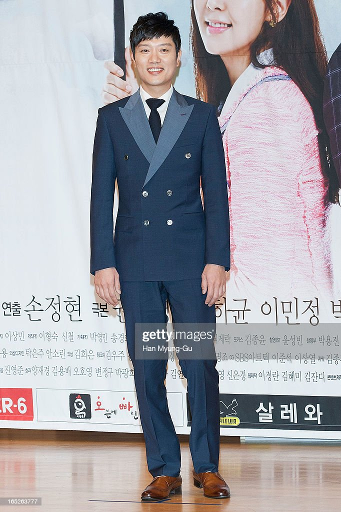 South Korean actor Park Hee-Soon attends the SBS Drama 'All About My Love' Press Conference at SBS Building on April 2, 2013 in Seoul, South Korea. The drama will open on April 04 in South Korea.