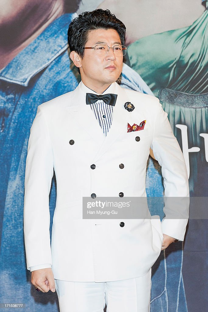 South Korean actor Park Sang-Min attends during the MBC Drama 'Scandal' Press Conference on June 26, 2013 in Seoul, South Korea. The drama will open on June 29 in South Korea.