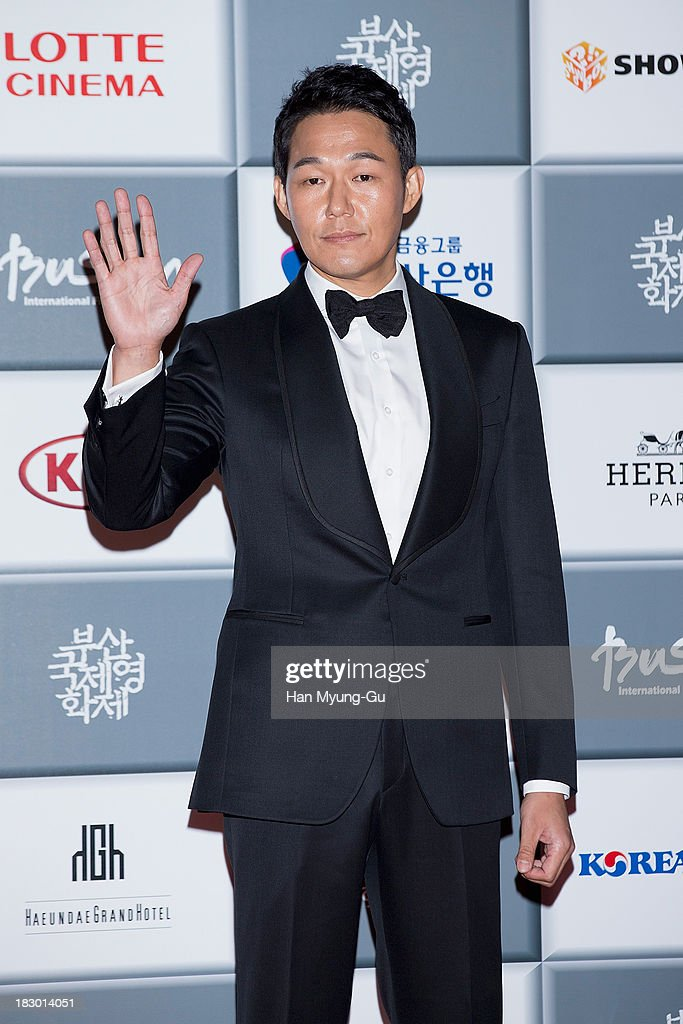 South Korean actor Park Sung-Woong attends the opening ceremony during the 18th Busan International Film Festival on October 3, 2013 in Busan, South Korea. The biggest film festival in Asia showcases 299 films from 70 countries and runs from October 3-12.