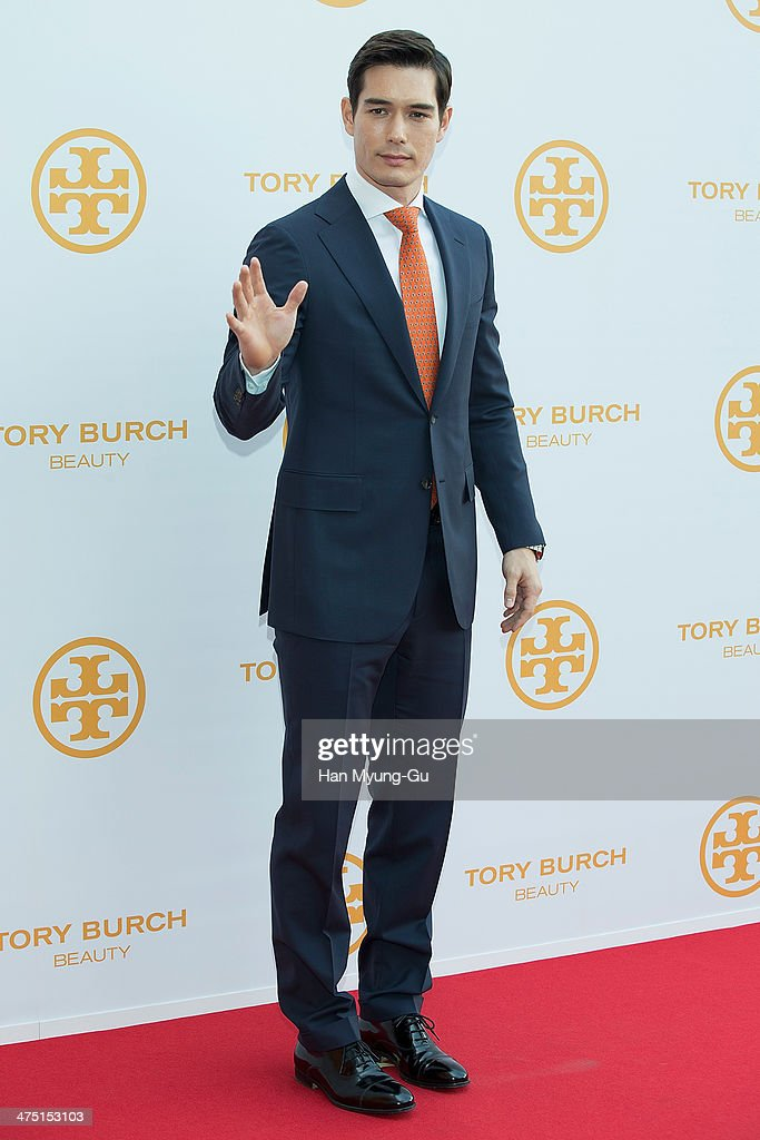 South Korean actor Ricky Kim attends 'Tory Burch' Eau De Parfum Launching Party at Tory Burch Flagship Store on February 26, 2014 in Seoul, South Korea.