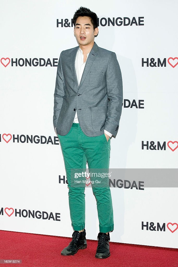 South Korean actor Yeo Wook-Hwan attends the H&M (Hennes & Mauritz AB) Hongik University Store Opening on February 28, 2013 in Seoul, South Korea.