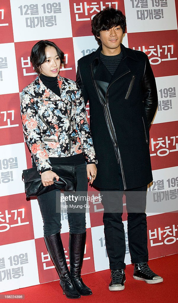 South Korean actors Jeon Hye-Jin (Jun Hye-Jin) and Lee Cheon-Hee (Lee Chun-Hee) attend the 'Love 119' VIP Screening at Kyung Hee University on December 11, 2012 in Seoul, South Korea. The film will open on December 19 in South Korea.