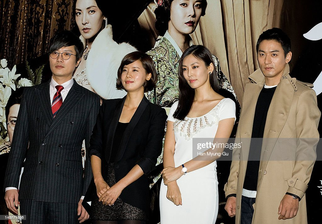 South Korean actors Park Hee-Soon and Yoo Sun and Kim So-Yeon and Joo Jin-Mo attends the 'Gabi' (Coffee) Press Screening at CGV on March 06, 2012 in Seoul, South Korea. The film will open on March 15 in South Korea.