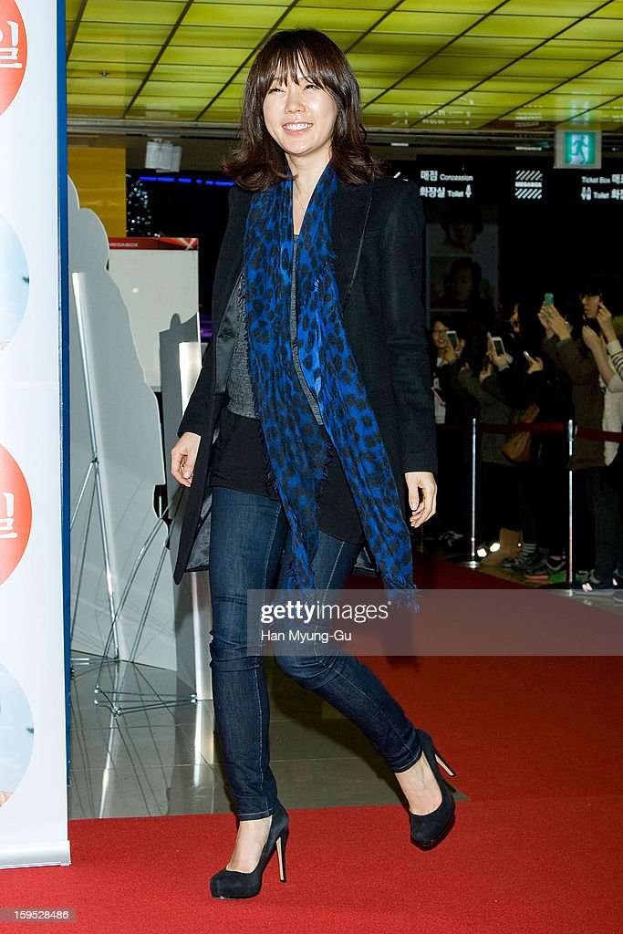 South Korean actress Ahn Sun-Young attends the 'Miracle In Cell No.7' VIP Screening at Mega Box on January 14, 2013 in Seoul, South Korea.