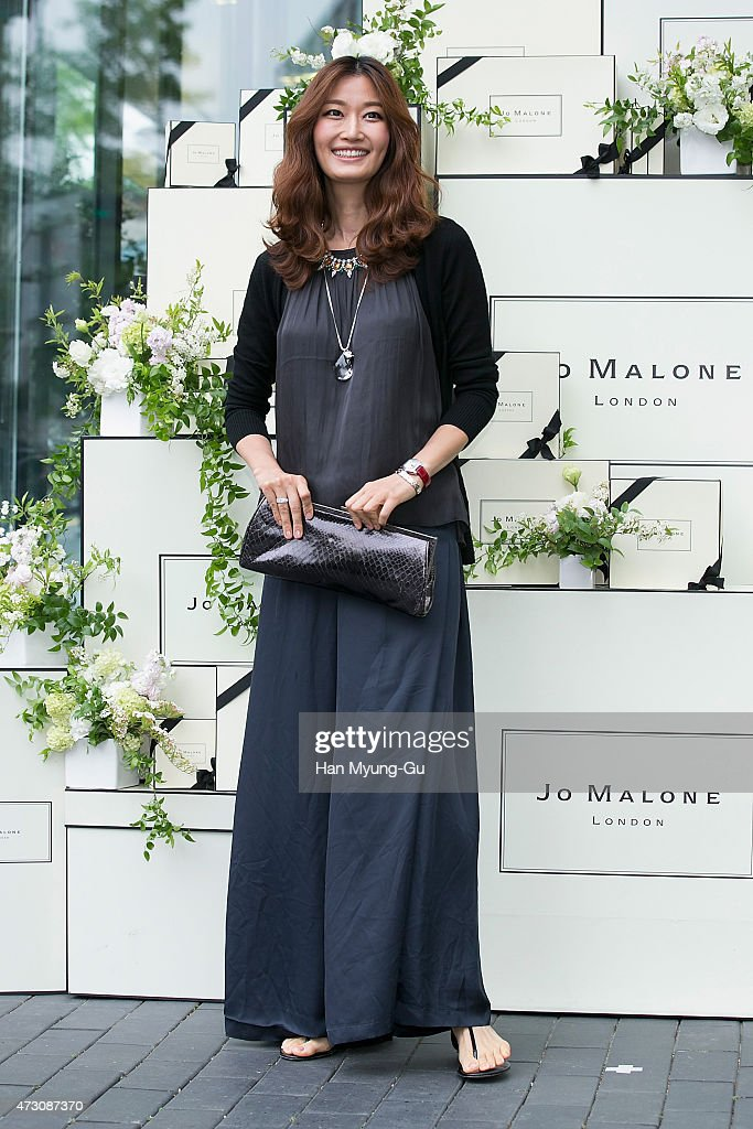 South Korean actress and model Byun Jung-Min (Bien Jeong-Min) attends the photocall for Jo Malone London Hannam boutique opening on May 12, 2015 in Seoul, South Korea.