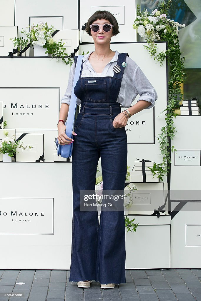 South Korean actress and model Byun Jung-Su (Byun Jung-Soo) attends the photocall for Jo Malone London Hannam boutique opening on May 12, 2015 in Seoul, South Korea.