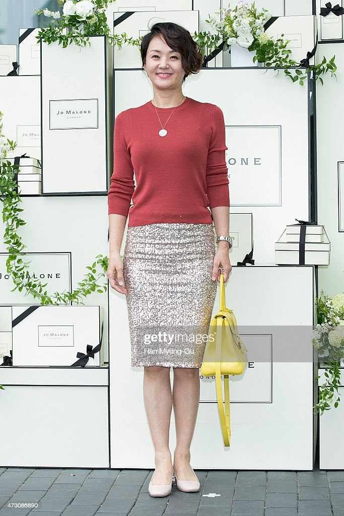 South Korean actress Bae Jong-Ok attends the photocall for Jo Malone London Hannam boutique opening on May 12, 2015 in Seoul, South Korea.