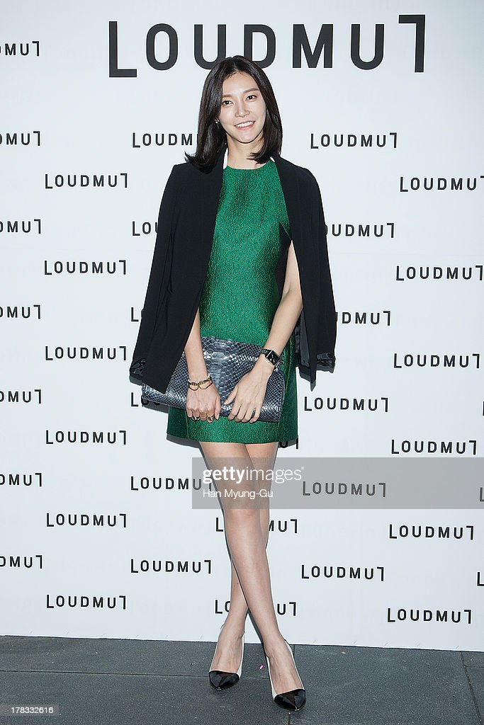 South Korean actress Cha Ye-Ryun (Cha Ye-Ryeon) attends during the 'Loudmut' launching fashion show at the JNB gallery on August 29, 2013 in Seoul, South Korea.