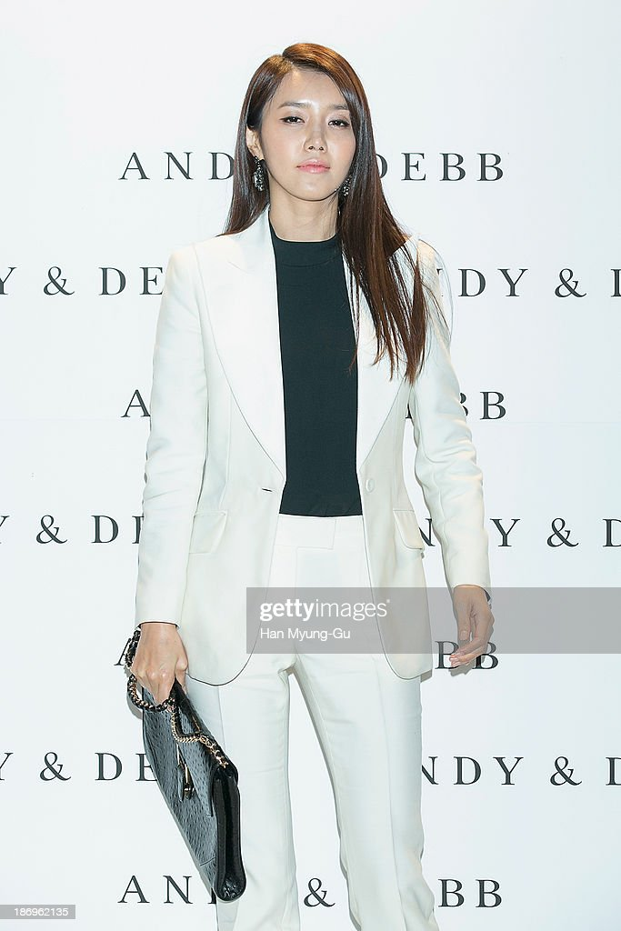 South Korean actress Chae Jung-An attends the ANDY & DEBB S/S 2014 Collection at Beyond Museum on November 5, 2013 in Seoul, South Korea.