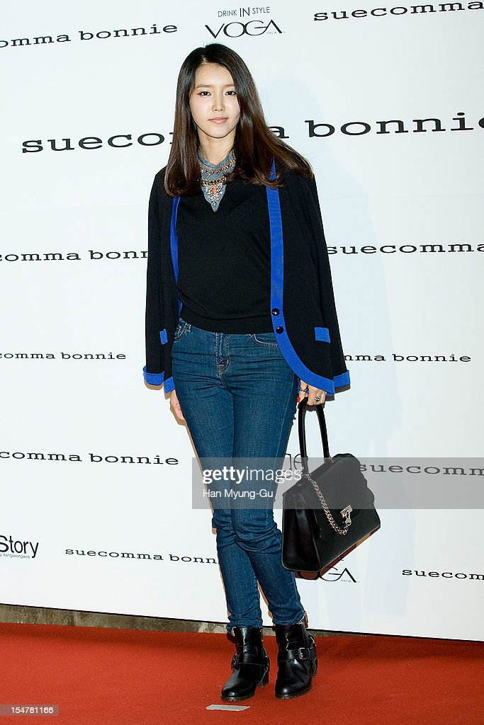 South Korean actress Chae Jung-An attends the promotional event of 'Suecomma Bonnie' 2013 S/S Presentation on October 25, 2012 in Seoul, South Korea.