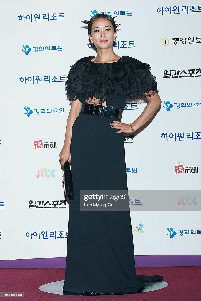 South Korean actress Cho Min-Soo attends the 49th Paeksang Arts Awards on May 9, 2013 in Seoul, South Korea.