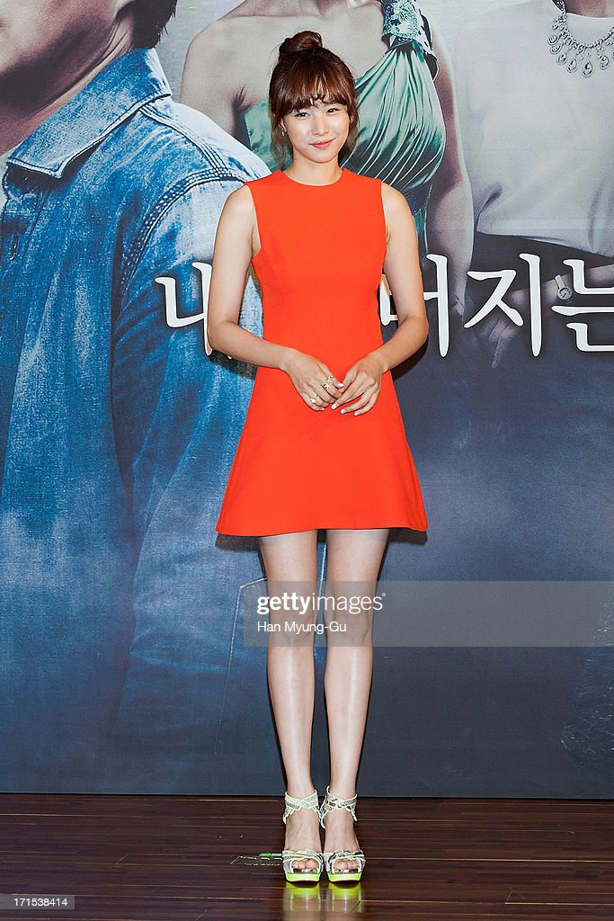South Korean actress Cho Youn-Hee attends during the MBC Drama 'Scandal' Press Conference on June 26, 2013 in Seoul, South Korea. The drama will open on June 29 in South Korea.