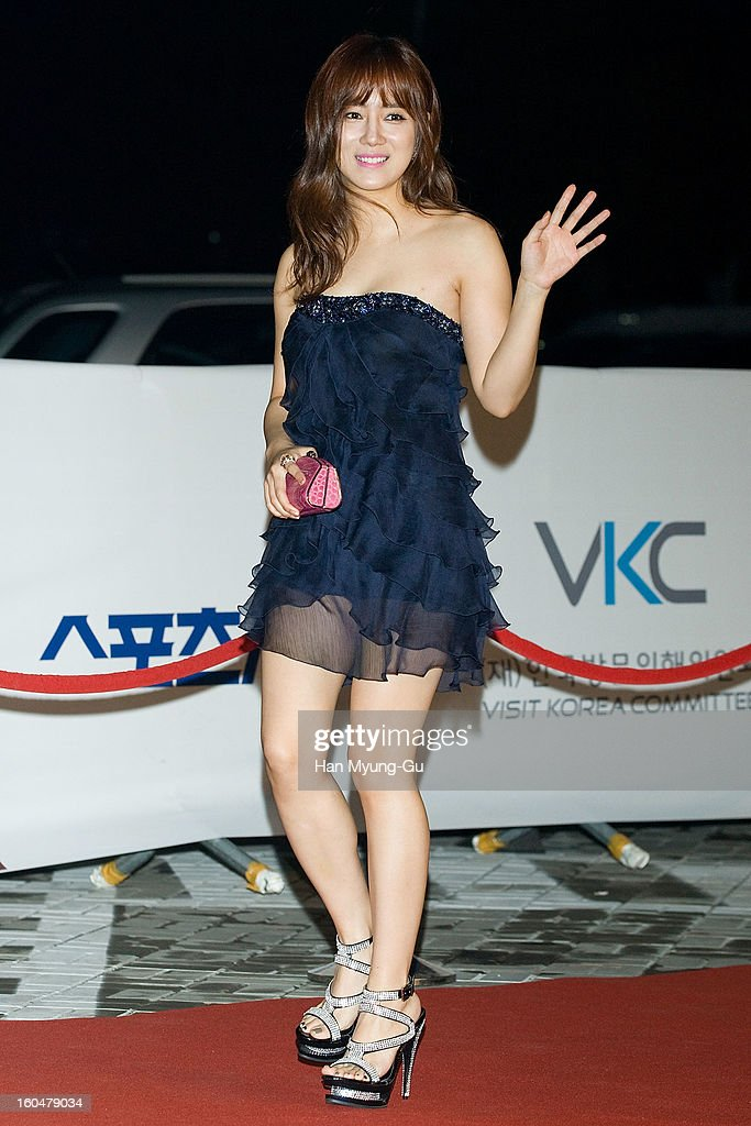 South Korean actress Choi Song-Hyun attends the 22nd High1 Seoul Music Awards at SK Handball Arena on January 31, 2013 in Seoul, South Korea.