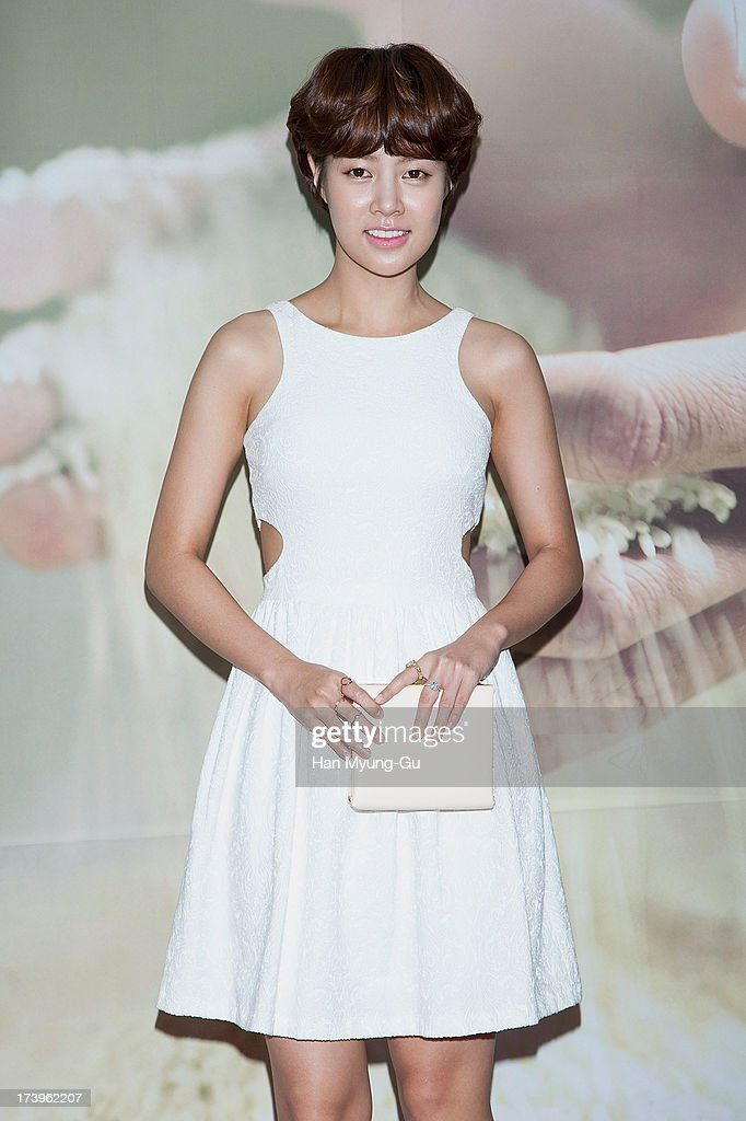 South Korean actress Choi Yun-Young attends the SK-II 'Pitera House' Pop Up store opening on July 18, 2013 in Seoul, South Korea.