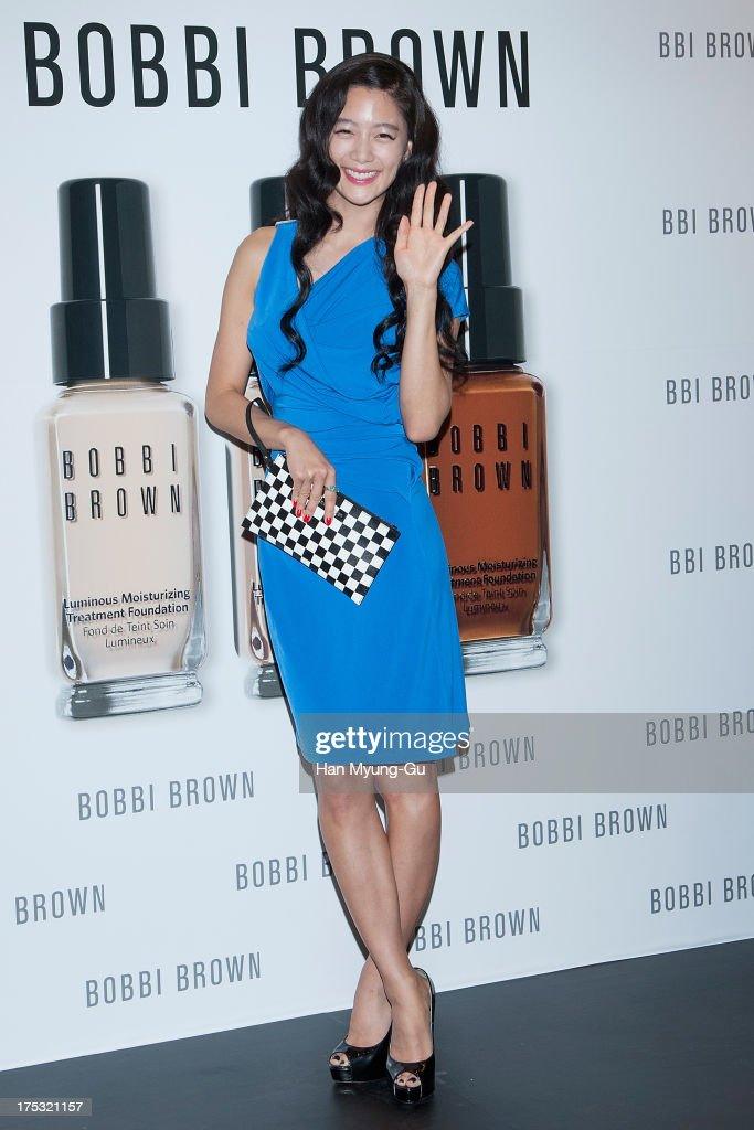South Korean actress <a gi-track='captionPersonalityLinkClicked' href=/galleries/search?phrase=Clara+-+South+Korean+Actress&family=editorial&specificpeople=13597668 ng-click='$event.stopPropagation()'>Clara</a> attends during a promotional event for the 'Bobbi Brown' Pop Up Lounge Opening Party on August 2, 2013 in Seoul, South Korea.