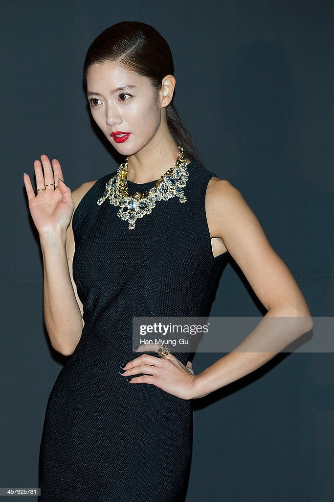 South Korean actress Clara attends The 28th Korea Best Dresser 2013 Swan Awards at Shilla Hotel on December 19, 2013 in Seoul, South Korea.