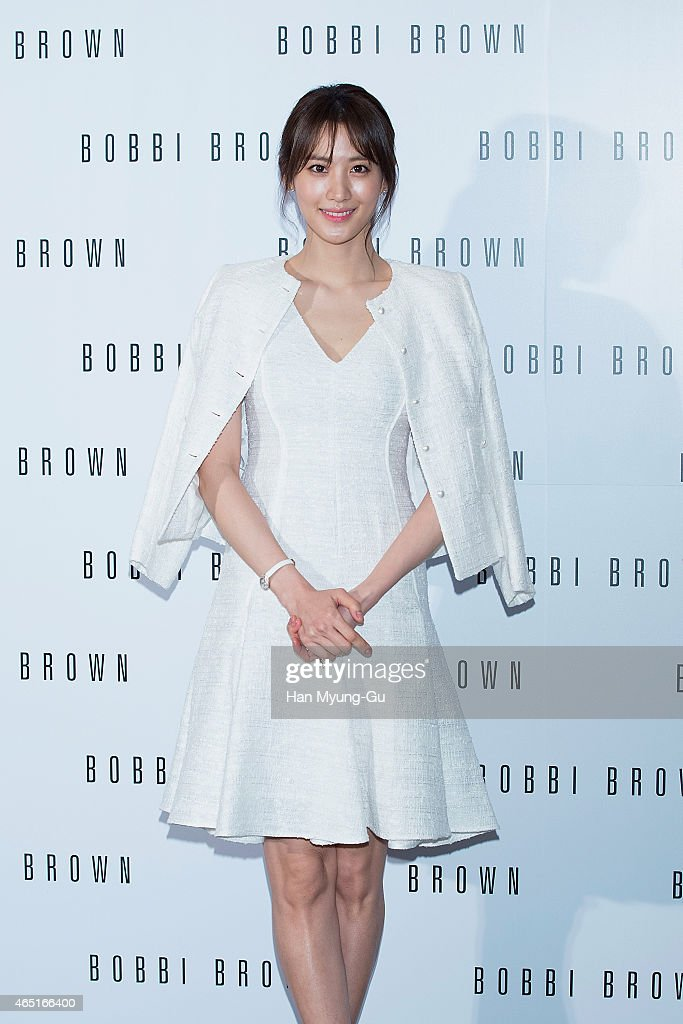 South Korean actress Claudia Kim attends the Bobbi Brown Launch Party at Shilla Hotel on March 3 2015 in Seoul South Korea