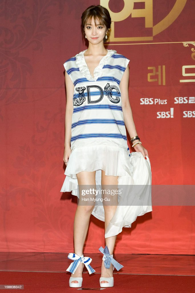 South Korean actress Go Jun-Hee (Ko Jun-Hee) attends during the 2012 SBS Drama Awards at SBS Prism Tower on December 31, 2012 in Seoul, South Korea.
