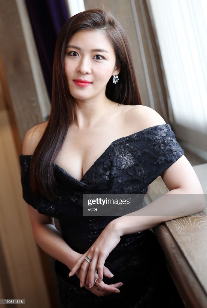 South Korean Actress Ha Ji-Won Visits Taipei