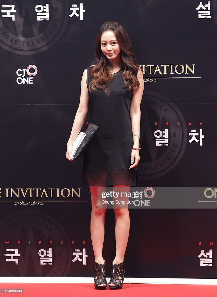 South Korean actress Han Ye-Seul attends the 'Snowpiercer' South Korea premiere at Times Square on July 29, 2013 in Seoul, South Korea.