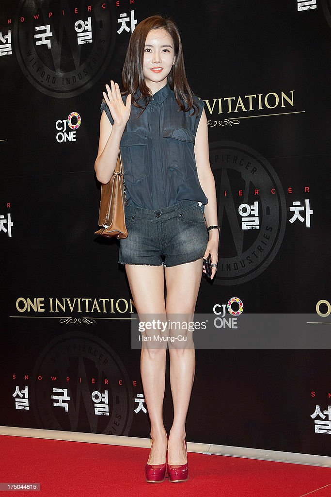 South Korean actress Hwangwoo Seul-Hye attends the 'Snowpiercer' South Korea premiere at Times Square on July 29, 2013 in Seoul, South Korea. The film will open on August 1, in South Korea.