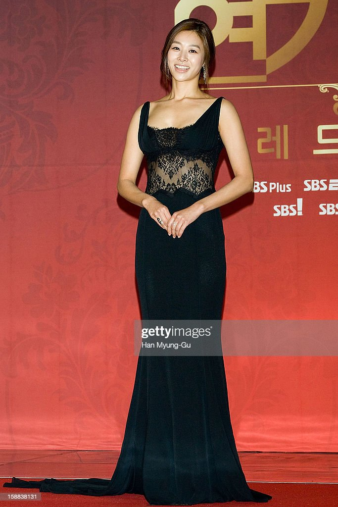 South Korean actress Jang Shin-Young attends during the 2012 SBS Drama Awards at SBS Prism Tower on December 31, 2012 in Seoul, South Korea.