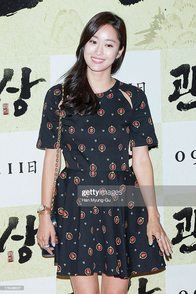 South Korean actress Jeon Hae-Bin (Jeon Hye-Bin) attends during 'The Face Reader' VIP screening at the CGV on September 4, 2013 in Seoul, South Korea. The film will open on September 11, in South Korea.