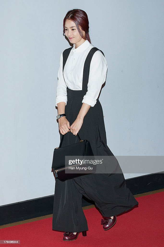 South Korean actress Kang Hae-Jung (<a gi-track='captionPersonalityLinkClicked' href=/galleries/search?phrase=Kang+Hye-Jung&family=editorial&specificpeople=7732153 ng-click='$event.stopPropagation()'>Kang Hye-Jung</a>) attends during 'The Face Reader' VIP screening at the CGV on September 4, 2013 in Seoul, South Korea. The film will open on September 11, in South Korea.