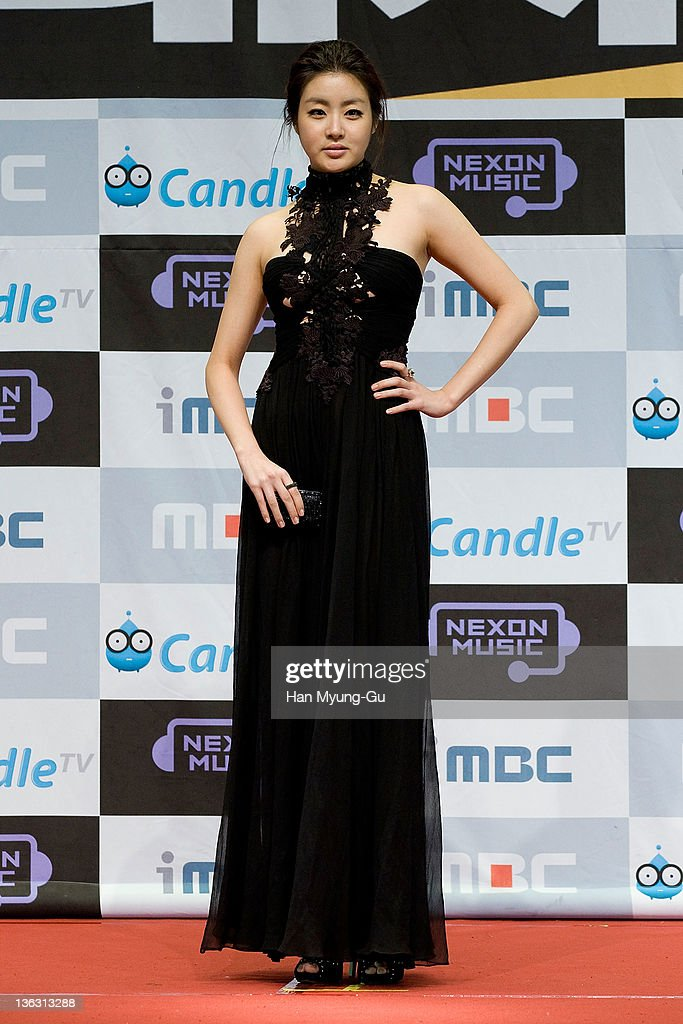 South Korean actress Kang So-Ra attends the 2011 MBC Korean Music Festival at Speedom on December 31, 2011 in Gyeonggi-do, South Korea.