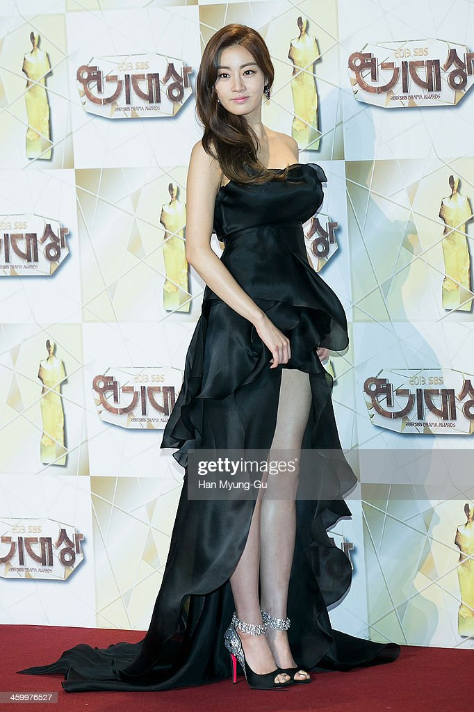 South Korean actress Kang So-Ra attends the 2013 SBS Drama Awards at SBS on December 31, 2013 in Seoul, South Korea.