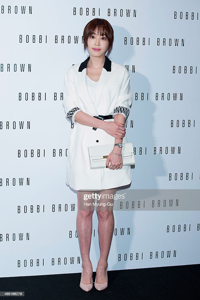 South Korean actress Kang Yewon attends the Bobbi Brown Launch Party at Shilla Hotel on March 3 2015 in Seoul South Korea