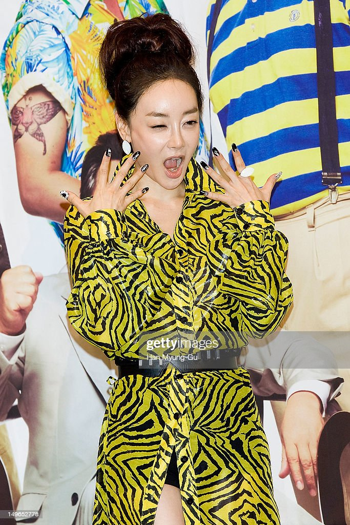 South Korean actress Kim Hae-Eun attends during a press conference to promote the KBS drama 'Haeundae Lovers' at Imperial Palace Hotel on August 01, 2012 in Seoul, South Korea. The drama will open on August 06 in South Korea.