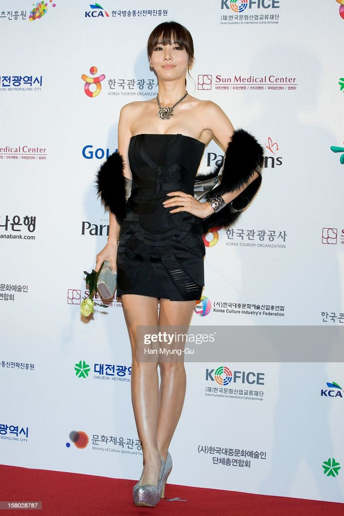 South Korean actress Kim Hae-Jin attends the 1st K-Drama Star Awards at Daejeon Convention Center on December 8, 2012 in Daejeon, South Korea.
