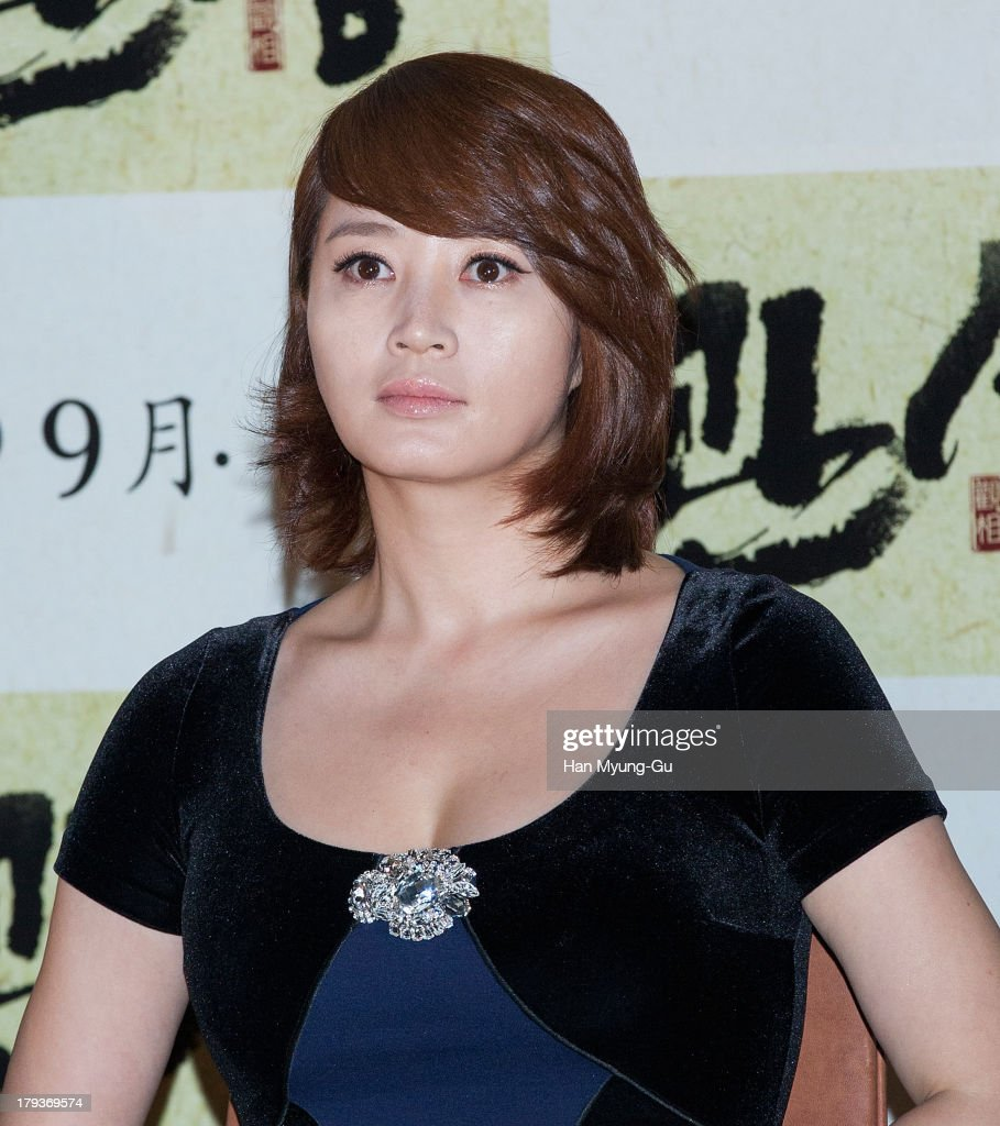 South Korean actress Kim Hae-Soo (<a gi-track='captionPersonalityLinkClicked' href=/galleries/search?phrase=Kim+Hye-Soo&family=editorial&specificpeople=4335641 ng-click='$event.stopPropagation()'>Kim Hye-Soo</a>) attends 'The Face Reader' press screening at the MEGA Box on September 2, 2013 in Seoul, South Korea. The film will open on September 11, in South Korea.