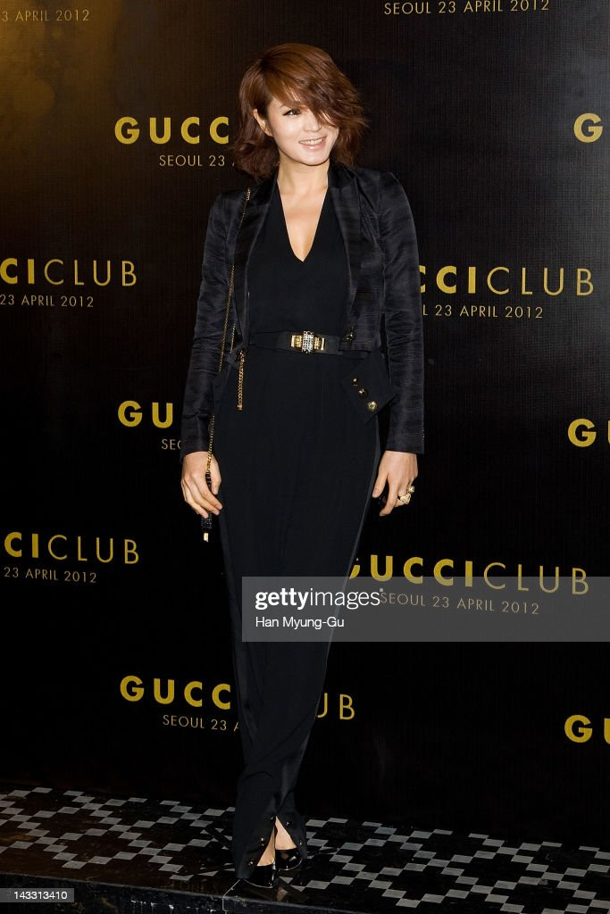 South Korean actress Kim Hae-Soo attends the Reopening of Gucci's Seoul Flagship Store on April 23, 2012 in Seoul, South Korea.