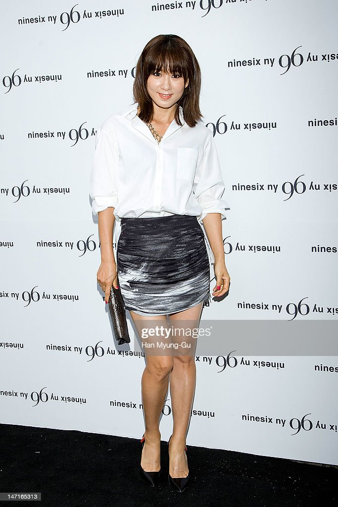 South Korean actress Kim Hee-Ae arrives the 'Nine Six NY' Directing Collection with Chris Han at Platoon Kunsthalle on June 26, 2012 in Seoul, South Korea.