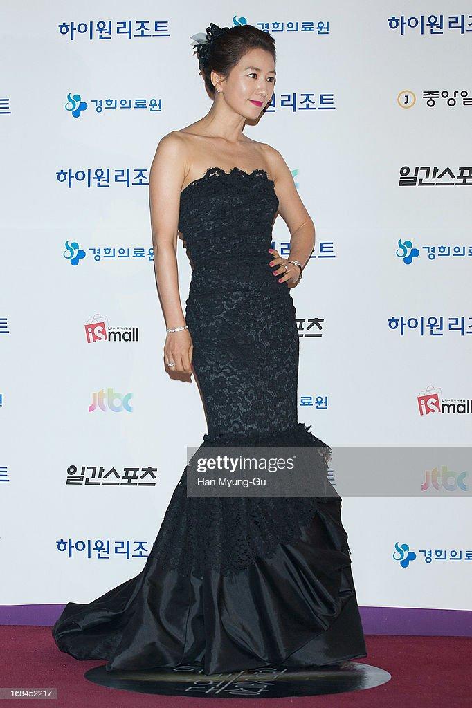South Korean actress Kim Hee-Ae attends the 49th Paeksang Arts Awards on May 9, 2013 in Seoul, South Korea.