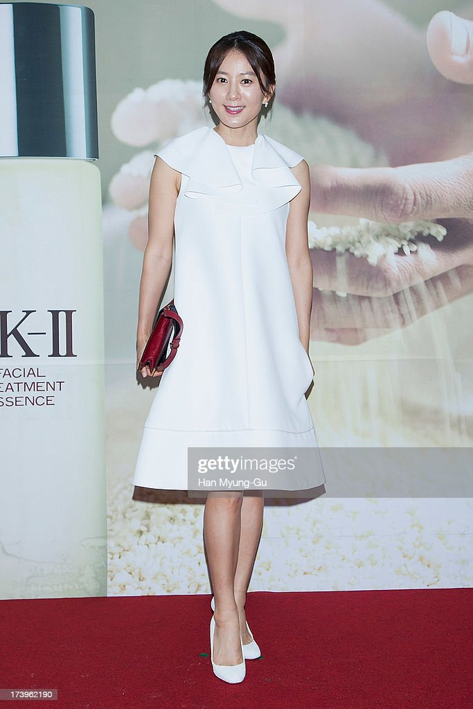 South Korean actress Kim Hee-Ae attends the SK-II 'Pitera House' Pop Up store opening on July 18, 2013 in Seoul, South Korea.
