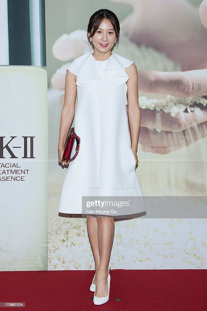 South Korean actress <a gi-track='captionPersonalityLinkClicked' href=/galleries/search?phrase=Kim+Hee-Ae&family=editorial&specificpeople=4388537 ng-click='$event.stopPropagation()'>Kim Hee-Ae</a> attends the SK-II 'Pitera House' Pop Up store opening on July 18, 2013 in Seoul, South Korea.
