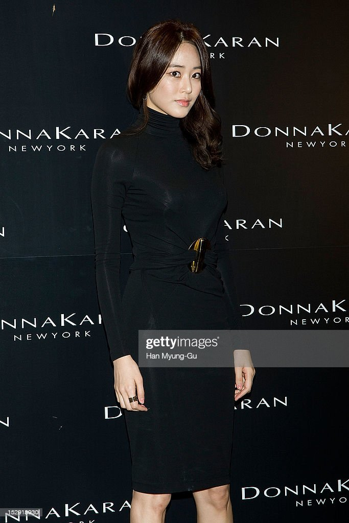 South Korean actress <a gi-track='captionPersonalityLinkClicked' href=/galleries/search?phrase=Kim+Hyo-Jin&family=editorial&specificpeople=7350092 ng-click='$event.stopPropagation()'>Kim Hyo-Jin</a> attends the Donna Karan Korea Celebrates 1th Anniversary of 'Women Who Inspire' Launching Party at Donna Karan Gangnam store on September 26, 2012 in Seoul, South Korea.