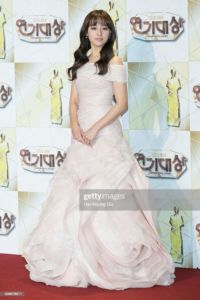 South Korean actress Kim Ji-Won attends the 2013 SBS Drama Awards at SBS on December 31, 2013 in Seoul, South Korea.