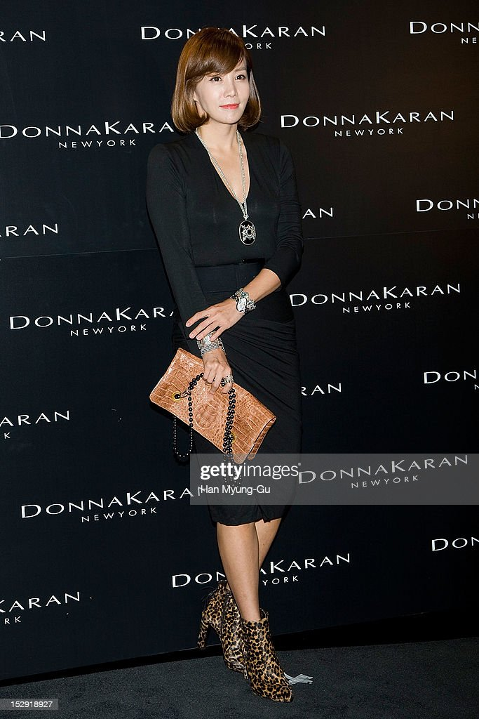 South Korean actress Kim Jung-Eun attends during the Donna Karan Korea Celebrates 1th Anniversary of 'Women Who Inspire' Launching Party at Donna Karan Gangnam store on September 26, 2012 in Seoul, South Korea.