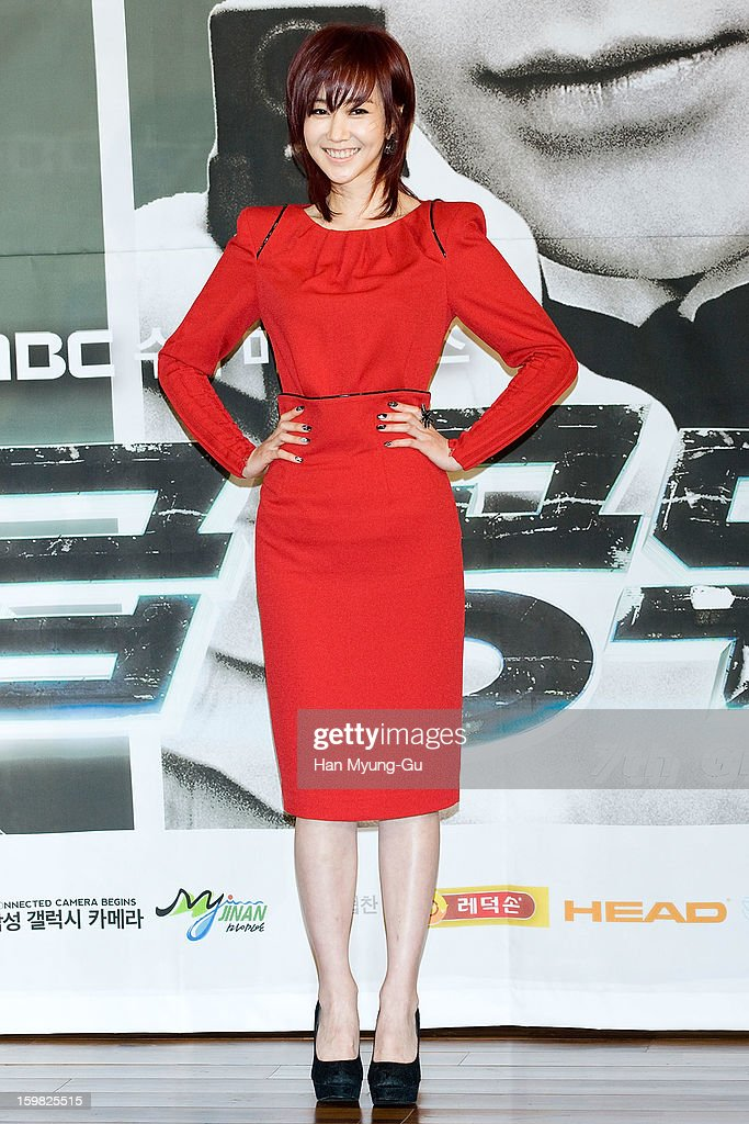 South Korean actress Kim Min-Seo attends the MBC Drama '7th Grade Civil Servant' Press Conference at 63 Building on January 21, 2013 in Seoul, South Korea. The drama will open on January 23 in South Korea.