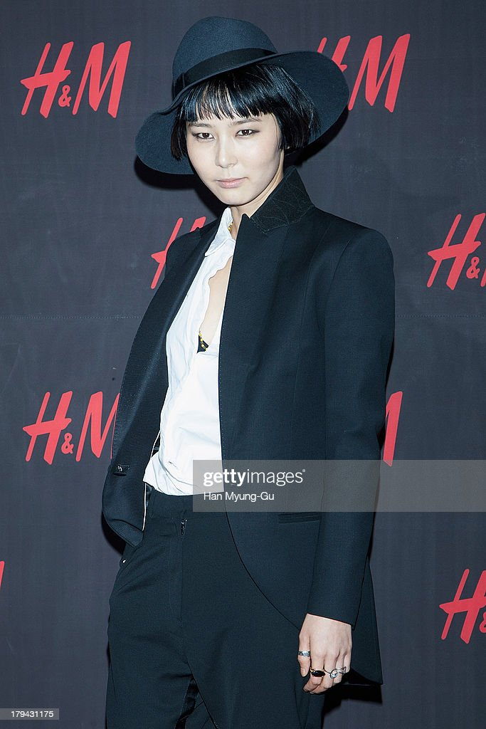 South Korean actress Kim Na-Young attends the H&M Autumn Collection Pre-Shopping Party at H&M Gangnam Store on September 3, 2013 in Seoul, South Korea.