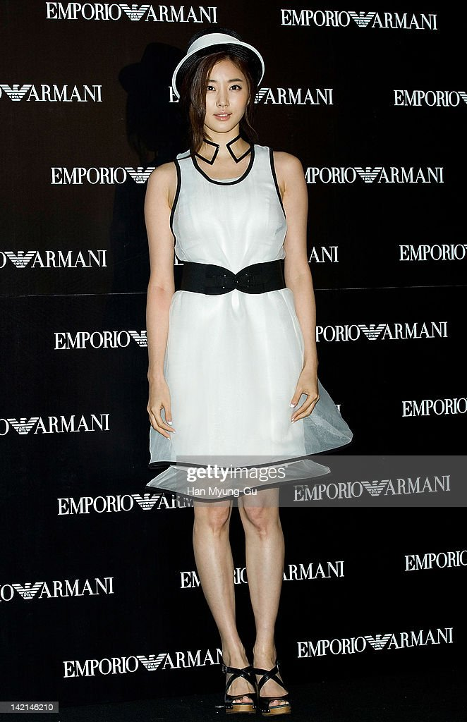 South Korean actress Kim SaRang attends 'Emporio Armani' Photo Exhibition Opening Party on March 29 2012 in Seoul South Korea on March 30 2012 in...