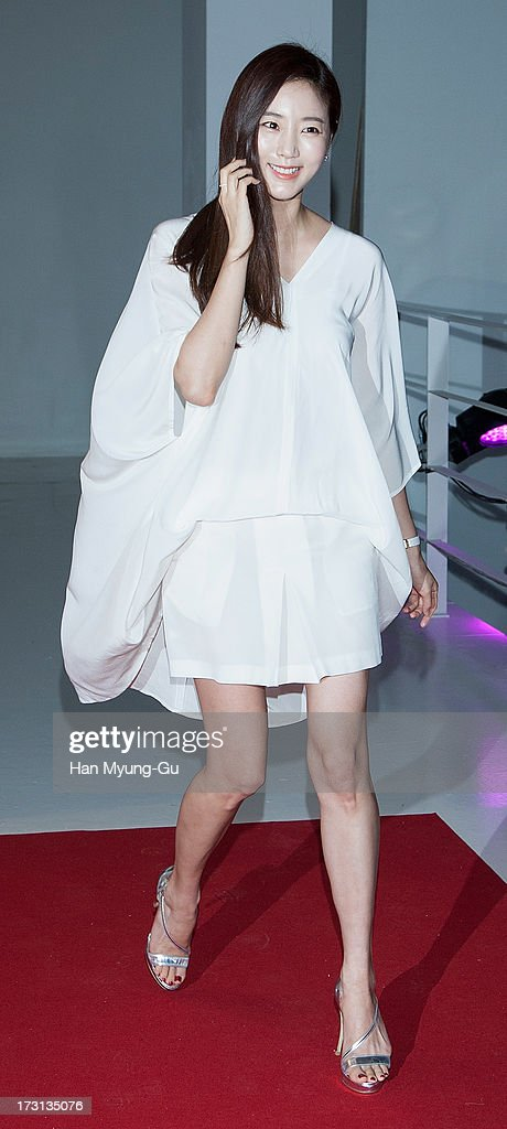 South Korean actress Kim Sa-Rang attends the 'OMEGA' Co-Axial Movement Exhibition at Beyond Museum on July 8, 2013 in Seoul, South Korea.