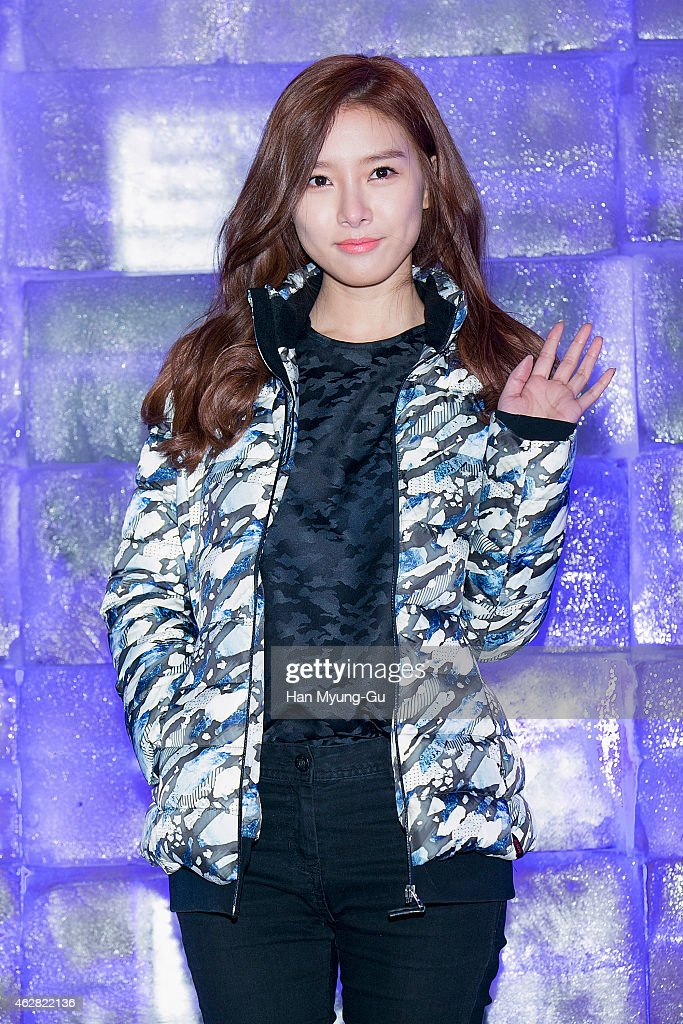 South Korean actress <a gi-track='captionPersonalityLinkClicked' href=/galleries/search?phrase=Kim+So-Eun&family=editorial&specificpeople=6670654 ng-click='$event.stopPropagation()'>Kim So-Eun</a> attends the EXR Excelerate Night at The Raum on February 5, 2015 in Seoul, South Korea.