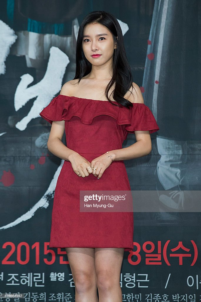 South Korean actress <a gi-track='captionPersonalityLinkClicked' href=/galleries/search?phrase=Kim+So-Eun&family=editorial&specificpeople=6670654 ng-click='$event.stopPropagation()'>Kim So-Eun</a> attends the press conference for MBC Drama 'The Scholar Who Walks The Night' on July 07, 2015 in Seoul, South Korea. The drama will open on July 08, in South Korea.